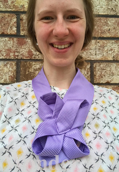 Women´s Necktie Purple - Anke Wonder