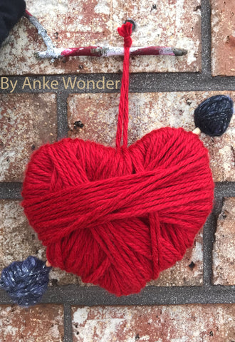 Red Valentines Heart Decoration | Free US shipping - Anke Wonder