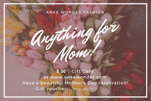 Gift Cards - Anke Wonder