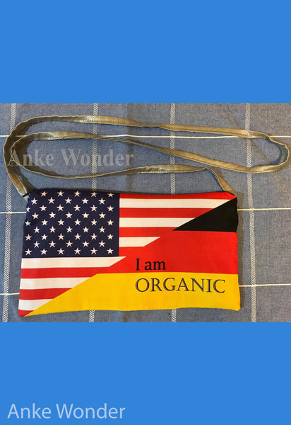 Women´s Handbag - German American Flag - Anke Wonder