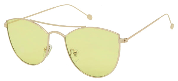 Pastel aviator women sunglasses