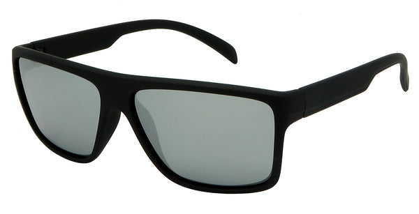 Affordable sport sunglasses with mirrored lenses