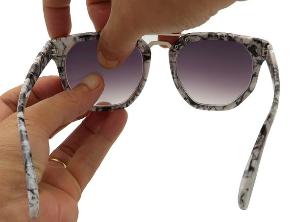 Remove lens for plastic sunglasses