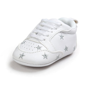 Hot Multiple Star Baby Girl Shoes