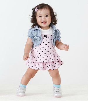 baby girl clothes summer style - cutebabyland