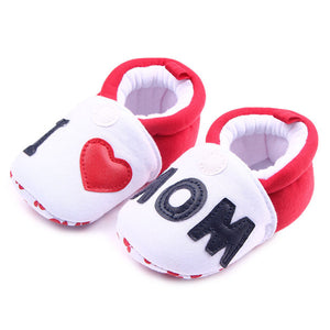 Baby Boy Soft Sole Cute Crib Shoes