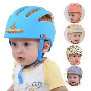 Adjustable Infant Safety Helmet