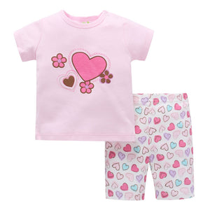 Newborn Kids Infant Baby Girls Clothes Sets