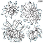 Chrysanthemum Stamp -- PRE ORDER ONLY
