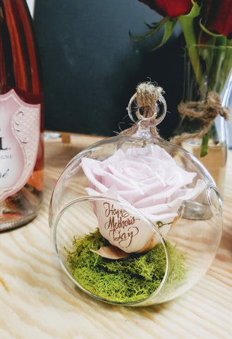 BUBBLE - preserved rose