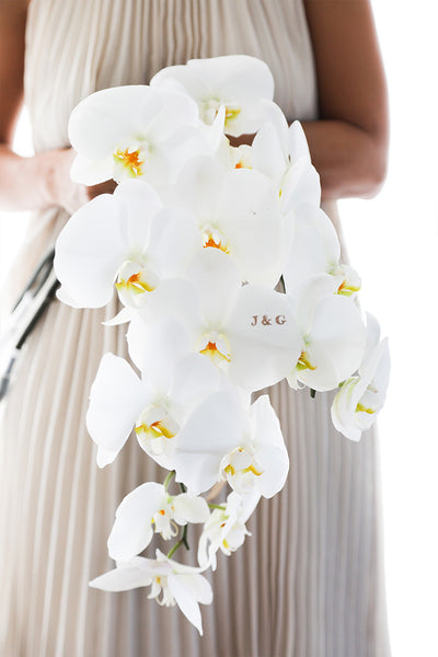 Cascading Orchid Bouquet - Bloomsfully Wholesale Flowers