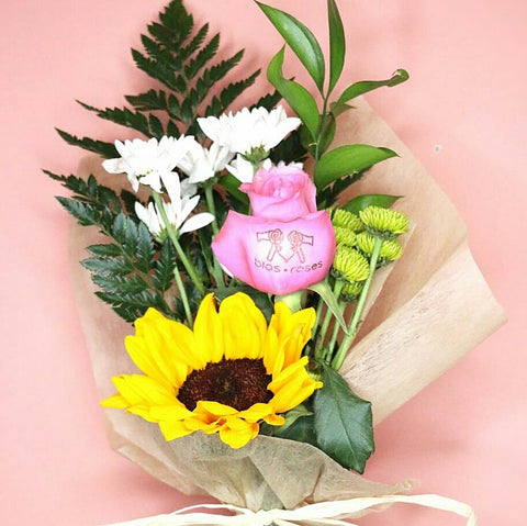 Mini bouquet Fresh   ( 12 mini bouquets) - Bloomsfully Wholesale Flowers