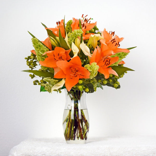 Orange Bouquet Sonoma! (30 Stems per Bouquet Pack 1 units) - Bloomsfully Wholesale Flowers