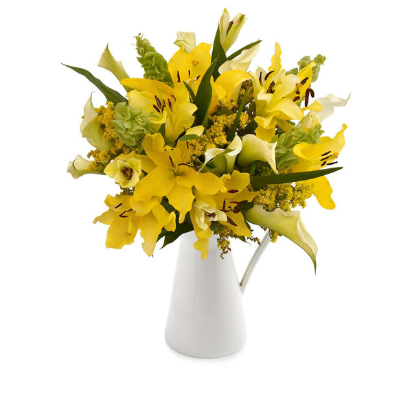 Yellow Centerpiece Sonoma! (30 Stems per Centerpiece Pack 5 units) - Bloomsfully