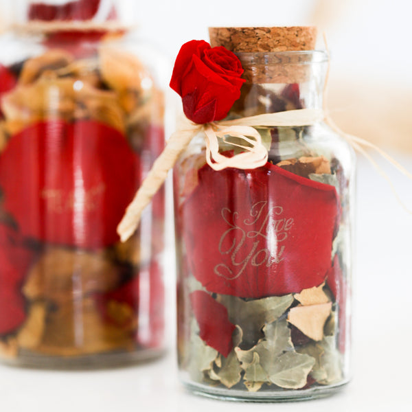 Custom Potpourri bottles (box per 10 Units)