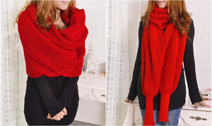 style winter wool scarves for men and women