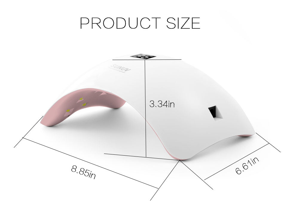 UV LED Nail Lamp Nail Gel Dryer