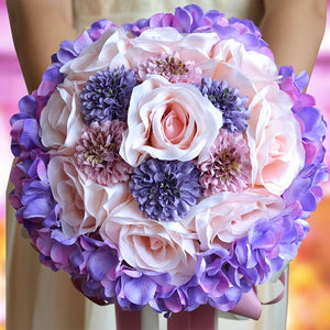 Bridal Bouquets Romantic Rose Holding