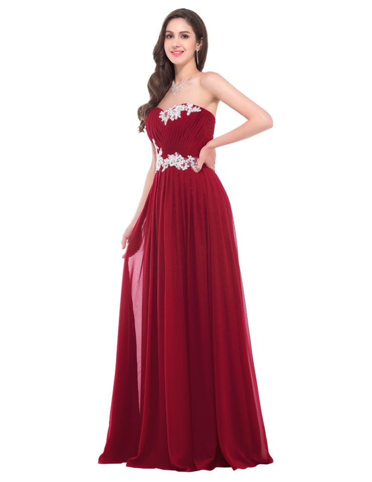 Beading Sequins Floor Length Sweetheart - Narvay.com