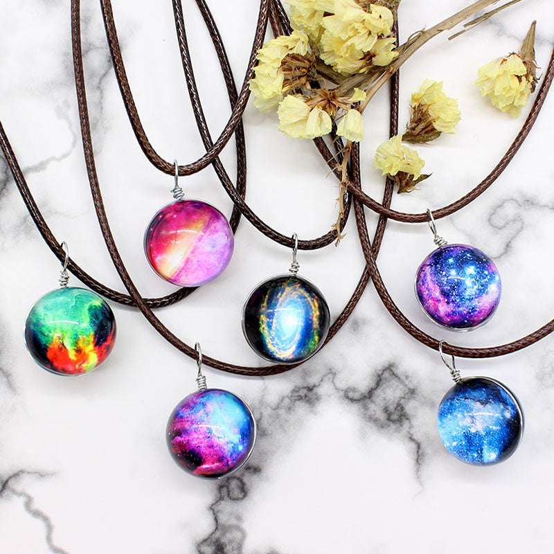 Crystal Galaxy Necklace