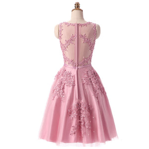 Cocktail Dresses Bride Banquet Elegant Embroidery