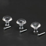 Crystal Glass Knobs