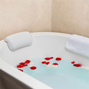 Bath Pillow Non-slip  Bathtub Headrest Soft - Narvay.com