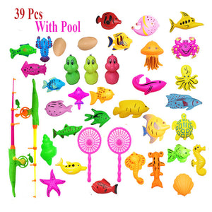 Inflatable pool Magnetic Fishing