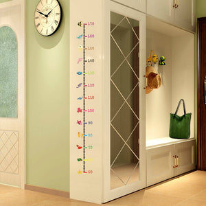 Height Measurement Wall Stickers Cartoon