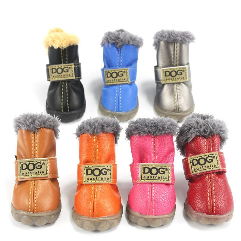 Pet Dog Shoes Winter Super Warm