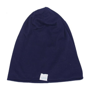 Solid Baby Winter Hat Bonnet Enfant