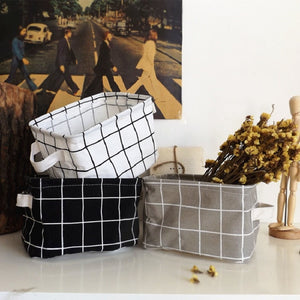 simple Cotton Line Storage Box - Narvay.com