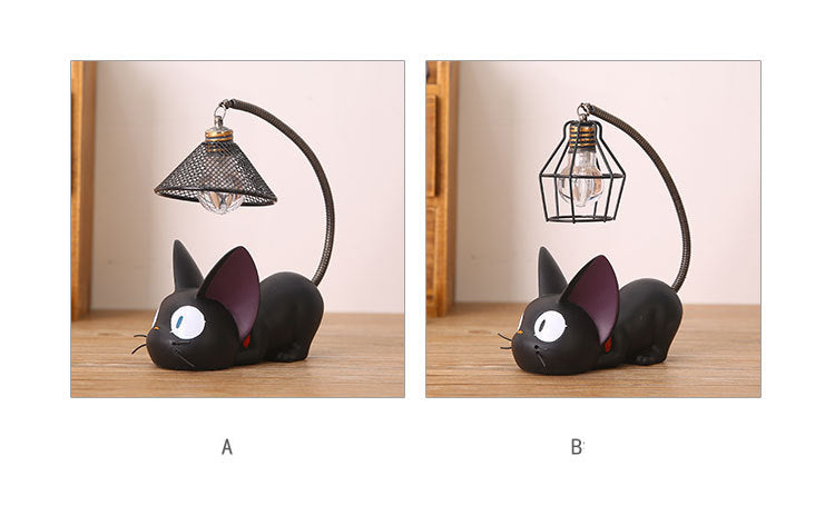 Little Black Cat Night Light