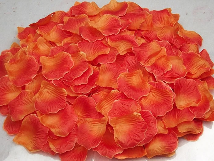 Rose Petals Flower Artificial  Wedding - Narvay.com