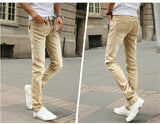 Men's Casual Stretch Skinny Jeans