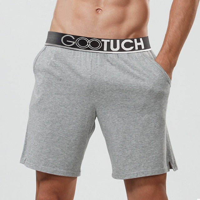 Fitness Men Bermudas Loose Boxer