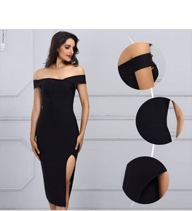 Bandage Dress Women Sexy Off the Shoulder - Narvay.com
