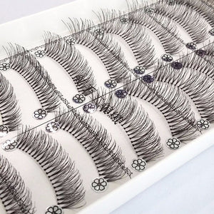 Messy Cross-section Eyelashes