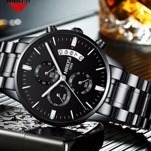 Men's Fashion Casual Dress Watch Military Wristwatches