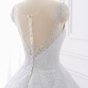 Wedding Dresses Lace Appliques Sexy Bridal Gowns
