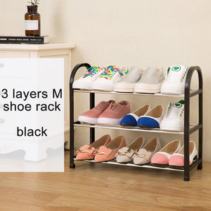Shoes shelf Easy Assembled Light Plastic 3 Tier - Narvay.com