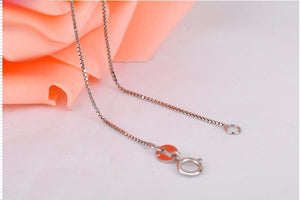 Italian Box Chain Necklace