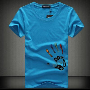 Tee Shirt Summer Short Sleeve Men's T Shirts