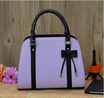 Korean bow ladies shoulder handbag - Narvay.com