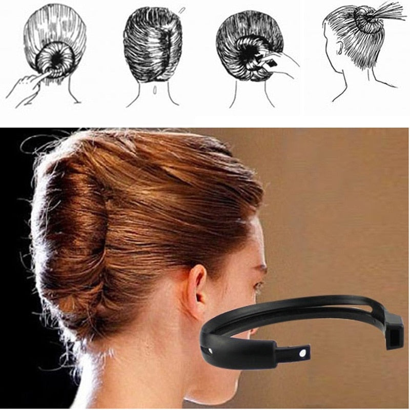 French Twist Maker Holder Hair Sticks Beauty Tools