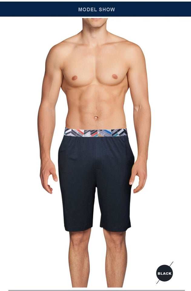 Casual Long Boxer Straight Beach Shorts