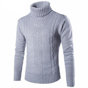 Male Sweater Pullover Slim Warm