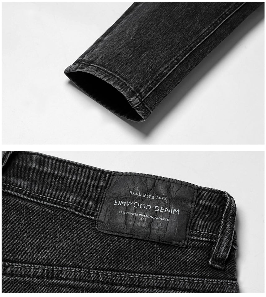 Autumn Jeans Men Casual Slim Trousers - Narvay.com
