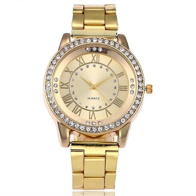 Casual Women Stainless Steel Wristwatches