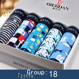 Men's Boxershorts Cotton Sexy 5pcs/lot Underwear